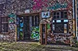 hansepuzzle 68701 Gebäude - Graffiti, 500 Teile in hochwertiger Kartonbox, Puzzle-Teile in wiederverschliessbarem Beutel.