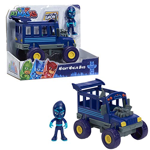PJ Masks Vehicle Night Ninja and Bus, Blue