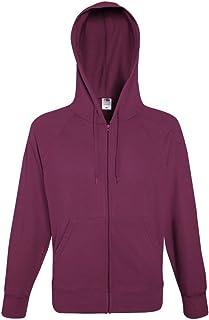 Fruit of the Loom Men's Lightweight Zip Hoodie Sweatshirt