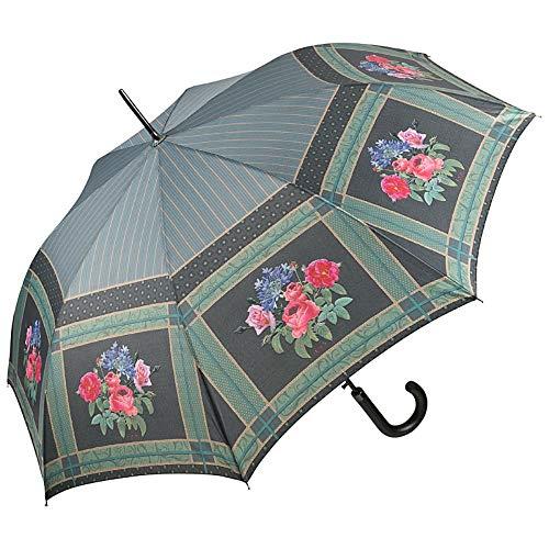 VON LILIENFELD Regenschirm Auf-Automatik Damen Stabil Blumen Stockschirm Eva Maria Nitsche: Bonny Bouquet