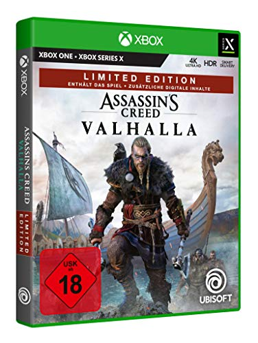 Assassin's Creed Valhalla - Limited Edition (exklusiv bei Amazon) - [Xbox One, Xbox Series X]