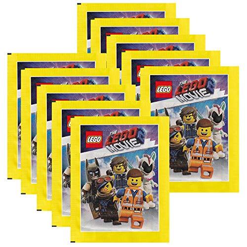 Blue Ocean - The Lego Movie 2 - Sammelsticker - 10 Tüten