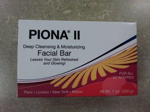 Piona II Deep Cleansing & Moisturizing Facial Bar 7oz(pack of 2pc)