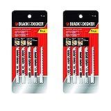 Black & Decker 75-530 Jig Saw Blades (5/Pack), 2 Pack