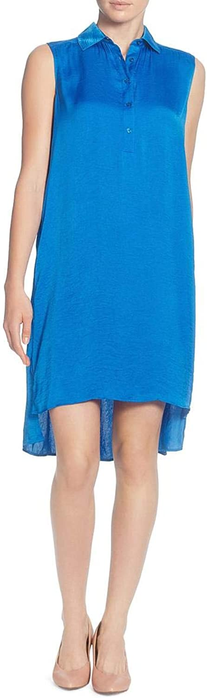 Catherine CATHERINE MALANDRINO Womens Stella Satin Pleated Midi Dress