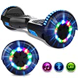 GeekMe Hover Scooter Board 6.5 Pollici Scooter Elettrico Autoalimentato Hoverboards Bluetooth...