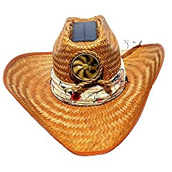 Kool Breeze Solar Cowboy Hat