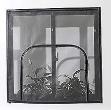 Indoor Cats Window Safety Net voor Kattenbescherming, Zelfklevende Window Screen Mesh met rits, Fly Screen Netting voor in...