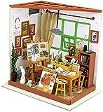 Robotime. Adas Studio DG103 - Holzmodellbau - Puppenhaus mit LED-Licht - DIY