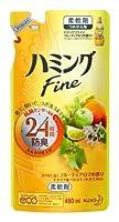 ハミングFine 柔軟剤 フルーティアロマの香り つめかえ用 480ml