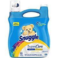 180 Loads Snuggle Lilies and Linen SuperCare Liquid Fabric Softener