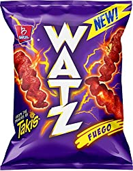 Barcel Watz Fuego - Cheese Flavored Puffs, 2.82 Ounces