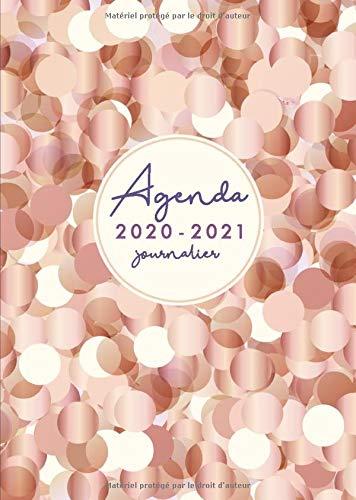 Agenda 2020 2021 A5 Journalier: 18 mois - juillet 2020 à décembre 2021 - planificateur, semainier simple & graphique, 1 semaine sur 2 pages - Agenda ... (Fournitures de bureau 2020/2021, Band 2)