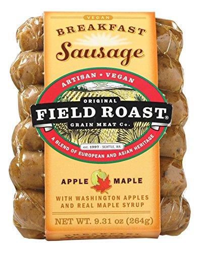 Field Roast Breakfast Sausage, Apple Maple, 9.31 Ounce (Pack of 12)