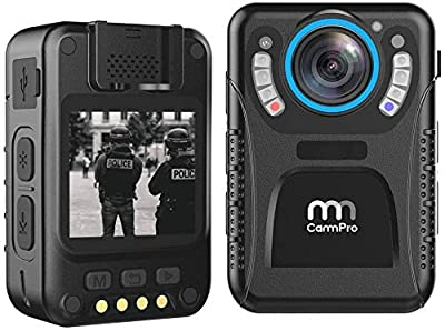 MM CAMMPRO C3 Body Camera, HD Pocket Wearable Camera Recorder - 128GB from MM CAMMPRO