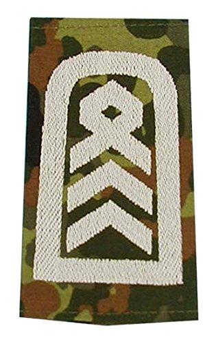 A.Blöchl Bundeswehr Heer Rangabzeichen Flecktarn - Silber (Oberstabsfeldwebel)