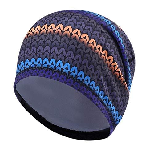 QQSA Outdoor Sports Bike Fleece Hüte for Männer Winddichtes Sport Radfahren Fahrrad Breathable Cap Fahrrad-Reitstirnband (Color : 3, Hat Size : One Size)