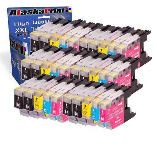 Alaskaprint 30x kompatible Druckerpatronen als Ersatz für Brother MFC-J5910DW MFC-J6510DW MFC-J6710DW MFC-J6910DW MFC-J280W MFC-J425W MFC-J430W MFC-J435W MFC-J625DW MFC-J825DW MFC-J835DW DCP-J525W DCP-J725DW DCP-J925DW Tintenpatrone Brother LC-1280 LC-1280XL LC1280XL LC1280 XL