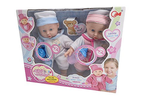 Toys Outlet Baby May May 5406332785. Hermanos Gemelos. Modelo Aleatorio.