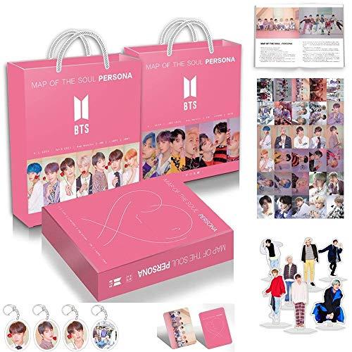Kpop Neues Album Bangtan Boys Geschenk Map of the Soul Personal BTS Army Box mit Fotobuch Fotoset HD-Poster Lesezeichen Album (Army Box), Army Box
