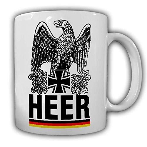 Tasse BW Heer Bundeswehr Adler Eichenlaub Ehren Infanterie Panzergrenadier#24507