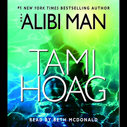 The Alibi Man audiobook cover art