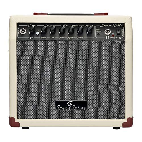 Amplificador Cream-15r-Combo Vintage para Guitarra eléctrica 15 W con reverberación