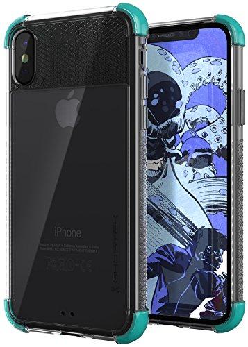 AmazonUkkitchen GHOSTEK Covert 2 Hoesje met Industriële Kracht Militaire Drop Bescherming voor Apple iPhone X -, Blauwgroen