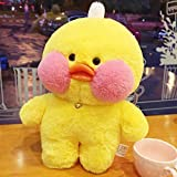 Liveforever Lalafanfan Plush Toy Cafe Mimi Yellow Duck Plush Doll Toy Duck Gift, 30 cm / 13 inch - Plush Toy Doll Clothing & Accessories