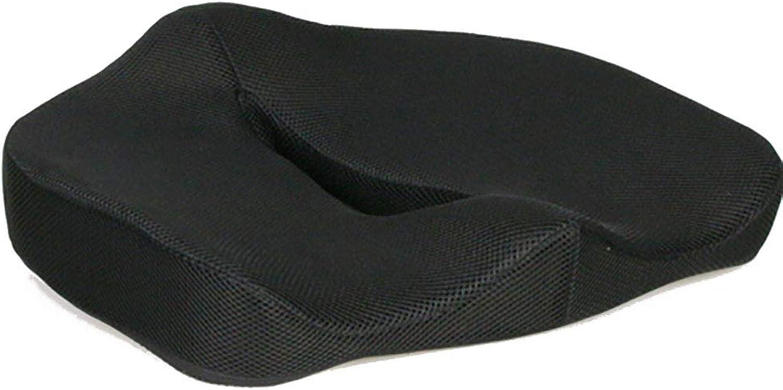 Seat Cushion Memory Foam Chair Pad Pillow Orthopedic Breathable & Ergonomic Design for Sciatica Tailbone Pain Relief 45  38cm