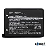 MPF Products 500mAh PL803040, FC30-01330200 Battery Replacement Compatible with Razer Turret Wireless Bluetooth Gaming Mouse RZ01-0133, RZ84-01330100