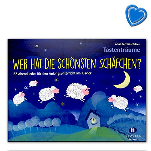 Wer hat die schönsten Schäfchen? 22 Abendlieder für den Anfangsunterricht am Klavier von Anne Terzibaschitsch