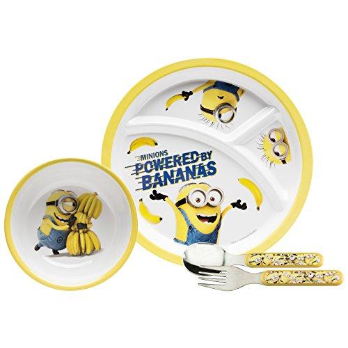 Toddlerific Minions Party Plate Set