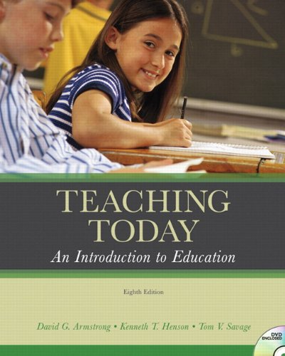 Teaching Today: An Introduction to Education