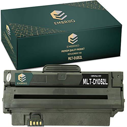 EMBRIIO MLT-D1052L D1052L Cartucho Tóner Reemplazo para Samsung ML-1910 ML-1915 ML-2525 ML-2525W ML-2540 ML-2545 ML-2580N SCX-4600 SCX-4600FN SCX-4623F SCX-4623FN SCX-4623FW SF-650