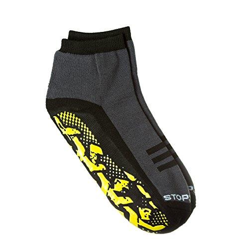 StopSocks: Hospital Socks + Yoga, Traction, Gym, Tread, Non Skid, Anti Slip Socks - Megaformer + The Perfect Running Sock