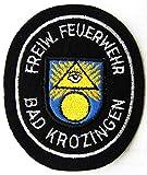 Freiwillige Feuerwehr - Bad Krozingen - Ärmelabzeichen - Abzeichen - Aufnäher - Patch - Motiv 2