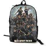 Casual Classic Backpack The Walking Dead Shoulder Backpacks Waterproof Bookbag Work Computer...