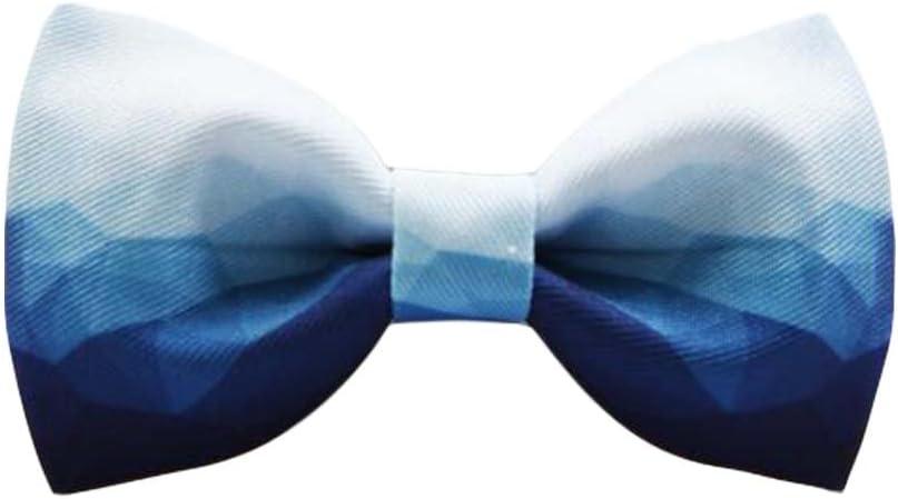 Men Bow Tie Polyester Neckties Printed Bow Tie Wedding Party Pre-Tied Bow Tie