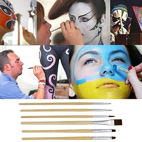 UCANBE Athena Face Body Paint Oil Palette, Professional