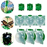 SUNNIOR 9 pcs New Plant Root Growing Box, High Pressure Box Grafting, Plant Rooting Device, Plant Cutting Globe Root Propagator for Garden Greenhouse (S, M,L)
