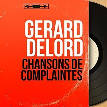 Chansons de complaintes (Mono Version)