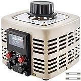 Mophorn?1000 VA Trasformatore variabile 220V AC 0-300 V AC Trasformatore di Tensione 50Hz Controllo Velocità Motore 2 Tipo Monofase con Fusibile