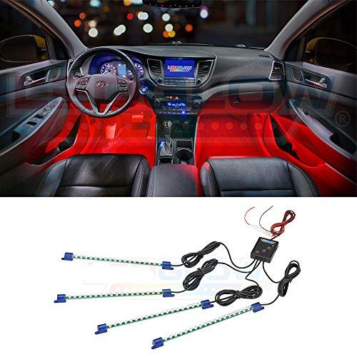neon car lights red - 9