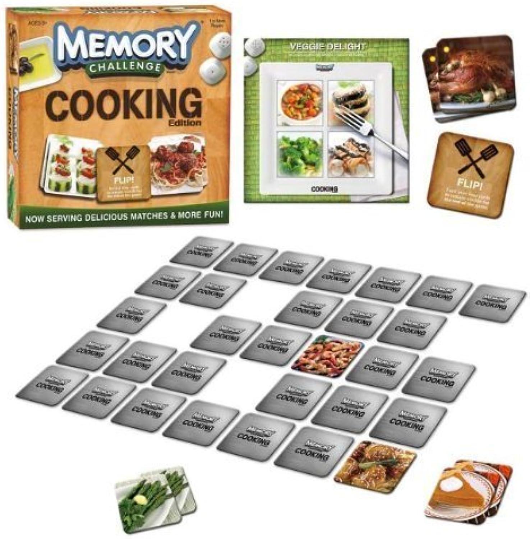artículos novedosos Memory Challenge Challenge Challenge Juego  Cooking Edition by USAopoly  ahorra hasta un 80%