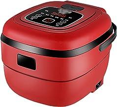Mini rijstkoker (2,5L) huishoudelijke kleine multifunctionele rijstkoker, één-knop schakelaar en warmtebehoud, voor 1-4 pe...
