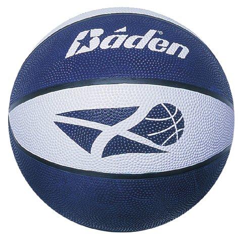 Baden Scotland - Pallone da Pallacanestro, Misura 3, Colore: Blu/Bianco