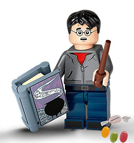 Serie 2 Lego® 71028 Harry Potter™ Minifiguren Figur 01 Harry Potter zusätzlich 1 x Sticker-und-co Fruchtmix Bonbon