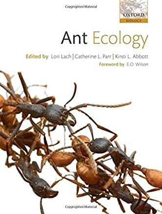 Ant Ecology by Lori Lach Catherine Parr Kirsti Abbott(2010-07-22)