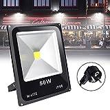 DLLT 50W LED Flutlicht Außen superhell 6000k...